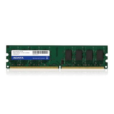 Adata RAM-geheugen: 2GB, DDR2, 800MHz, 240-p, DIMM