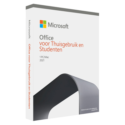 Microsoft Office 2021 Home & Student (NL) Software suite
