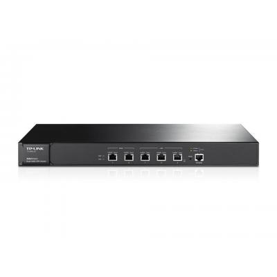 TP-LINK wireless router: TL-ER6120 - Gigabit Ethernet, DDRII 128MB, 8MB Flash, 350Mbps, Black - Zwart