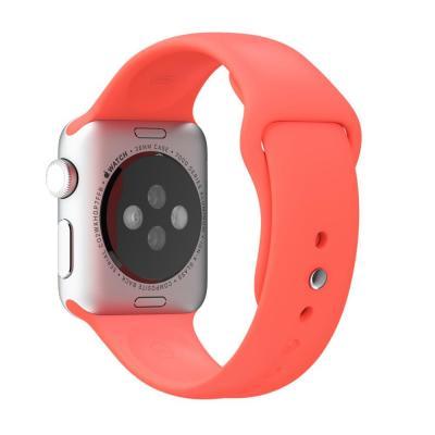 Apple horloge-band: 38mm Pink Sport Band - Roze