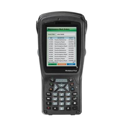 Zebra PDA: WAP4 SHORT NUM CE 6.0 EN 1D IMG 802.11 - Zwart