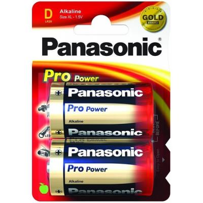 Panasonic LR20PPG/2BP batterij