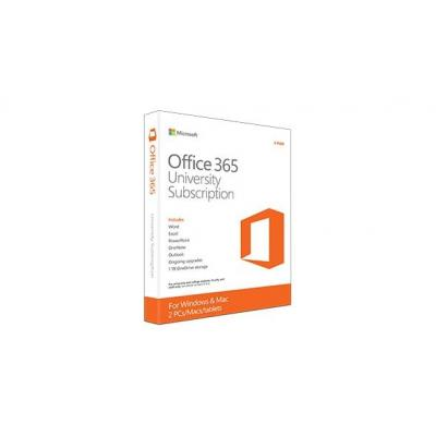 Microsoft software suite: Office 365 University