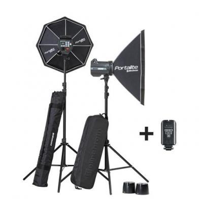 Elinchrom BRX 500/500 Softbox To Go photo studio equipment set - Zwart