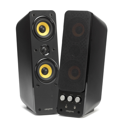 Creative Labs GigaWorks T40 Series II Speaker - Zwart