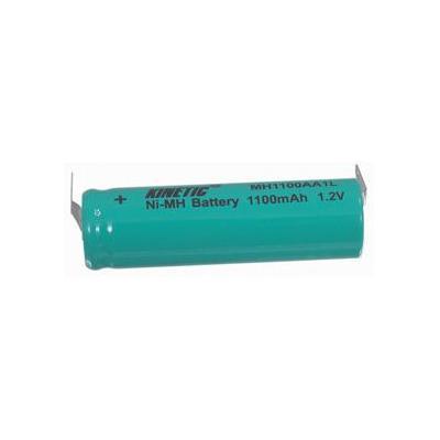 HQ Ni-MH R6 backup batterij 1.2 V 1100 mAh + soldeerlippen batterij - Groen