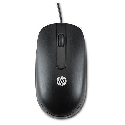 Hp computermuis: USB 1000dpi Laser Mouse (Bulkverpakking 100 stuks) - Zwart