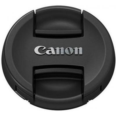 Canon E-49 49mm Lens Cap Lensdop - Zwart