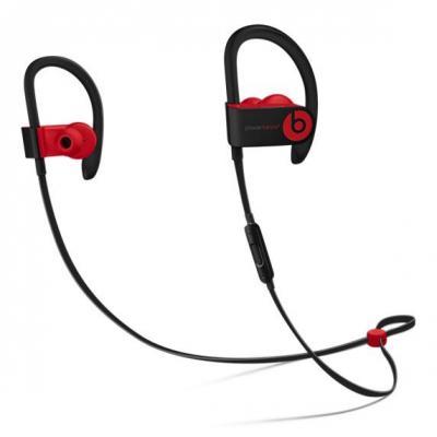Apple headset: Powerbeats3 - Zwart, Rood