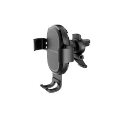 RealPower FreeCharge-10 Car Houder - Zwart