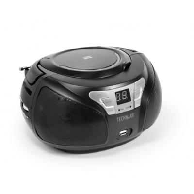 Technaxx BT-X38 CD speler - Zwart