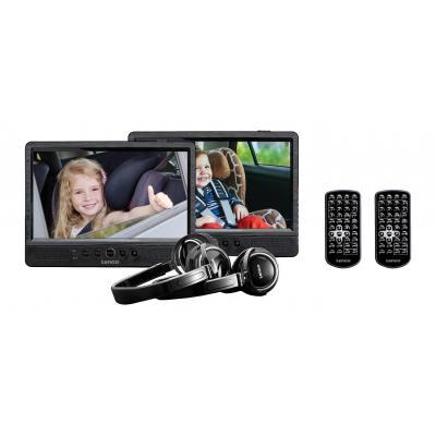 Lenco portable DVD player: DVP-1045 - Zwart