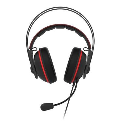 ASUS TUF Gaming H7 Headset - Zwart, Rood