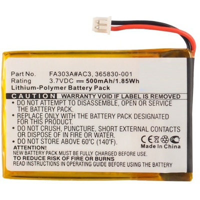CoreParts MBXWHS-BA041 Koptelefoon accessoire - Zwart