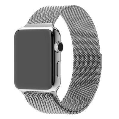 Apple horloge-band: 42mm Milanese Loop - Roestvrijstaal