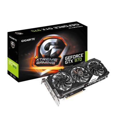 Gigabyte videokaart: NVIDIA GeForce GTX 970 4GB GDDR5 - Zwart