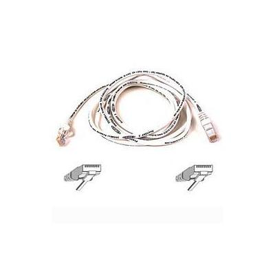 Belkin kabel: Cable patch CAT5 RJ45 snagless 0.5mWhite