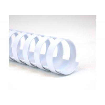 Gbc inbinder: CombBind Bindruggen Wit 19mm (100)