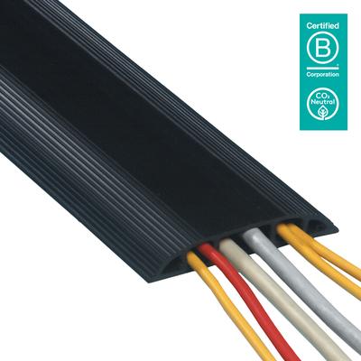 Dataflex Addit Kabel beschermer - Zwart