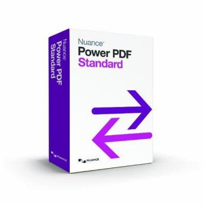 Nuance desktop publishing: PDF Converter Power PDF Standard