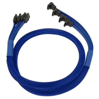 Nanoxia NXS6GBL ATA kabel - Blauw