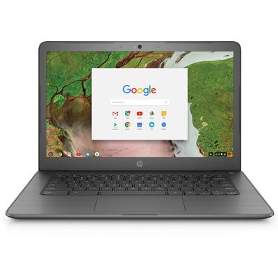 Hp laptop: Chromebook 14 G5 - Zwart