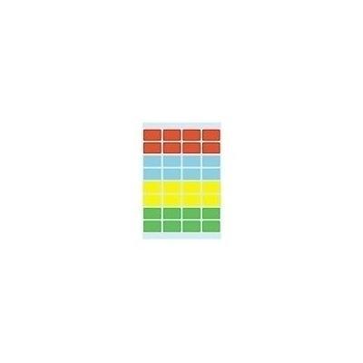 Herma etiket: Multi-purpose labels 12x19 mm colours assorted 160 pcs.