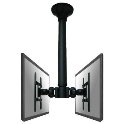Newstar flat panel plafond steun: LCD/TFT/LED plafondsteun - Zwart