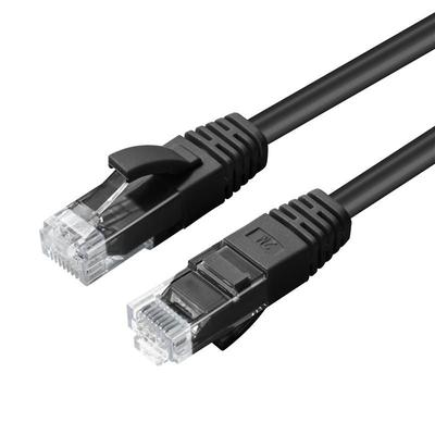 Microconnect Cat6 U/UTP 10m Netwerkkabel - Zwart