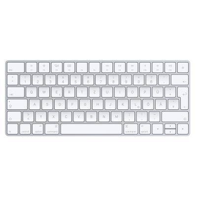 Apple toetsenbord: Magic Keyboard - Zilver, Wit, QWERTZ