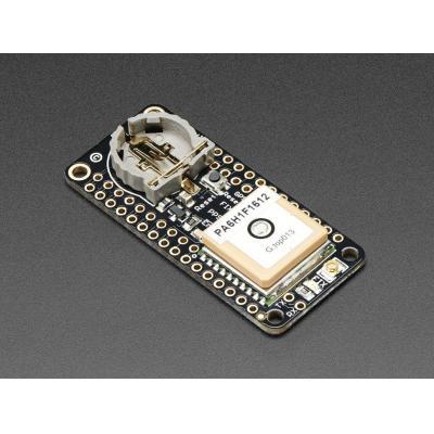 Adafruit : Ultimate GPS FeatherWing, MTK3339, GPS, 22.9x51.2x6.7 mm