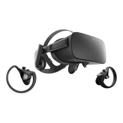 Oculus virtual reality bril: Rift + Touch - Zwart
