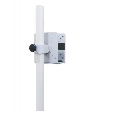 Newstar cpu steun: Thin Client Holder (attach between monitor and pole) - Silver - Zilver