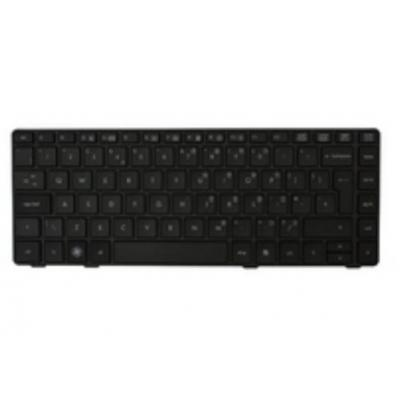 HP Keyboard without pointing stick for use inProBook 6460b models in the United Kingdom (includes keyboard cable) .....