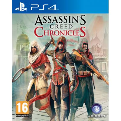 Ubisoft game: Assassin's Creed, Chronicles  PS4