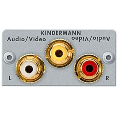 Kindermann 7444000530 Kabel adapter - Zilver