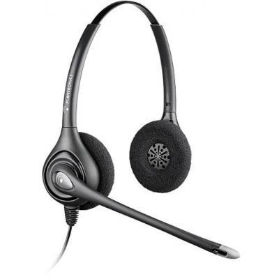 Plantronics SupraPlus Wideband HW261N headset - Zwart