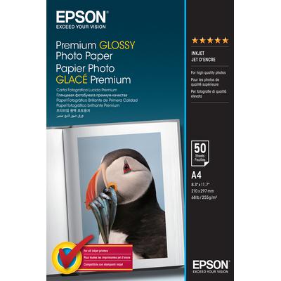 Epson Premium Glossy Photo Paper - A4 - 50 Vellen Fotopapier - Wit