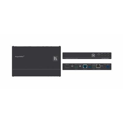 Kramer Electronics 4K60 4:2:0 HDMI PoE Transmitter w / USB, Ethernet, RS–232, IR & Stereo Audio .....
