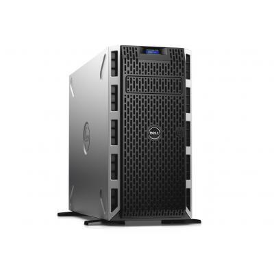 Dell server: PowerEdge T430 - Tower - Xeon E5-2620v4 - 16GB - 2x 300BG - SAS