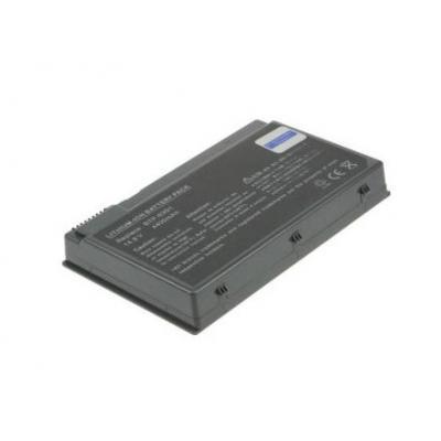 Acer notebook reserve-onderdeel: Laptop Battery, 8-Cells, Li-Ion, 14.8V, 4600mAh, 68Wh, Black - Zwart