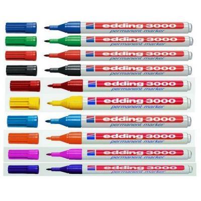 Edding marker: 3000 - Wit
