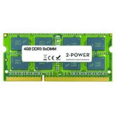 2-power RAM-geheugen: 4GB DDR3 SoDIMM - Groen
