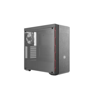Cooler Master MasterBox MB600L Behuizing - Zwart,Rood