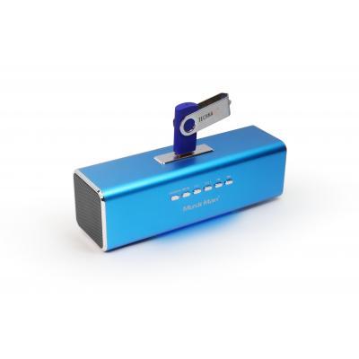 Technaxx draagbare luidspreker: MusicMan MA Soundstation - Blauw