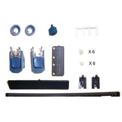 Hp Computerkast onderdeel: Plastics Kit for ProLiant DL385 - Zwart, Blauw, Wit
