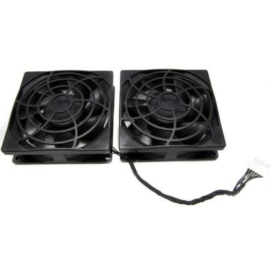 Hp cooling accessoire: Rear Mounted System Fans Assembly for Z620 Workstation - Zwart