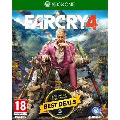Ubisoft game: Far Cry 4 (Greatest Hits)  Xbox One