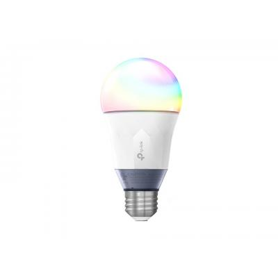 Tp-link led lamp: Smart Wi-Fi LED Bulb, IEEE 802.11b/g/n, 2.4GHz, 1T1R, E26, 800lm, 11W - Grijs, Wit