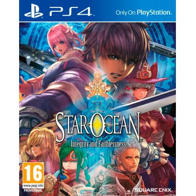 Square enix game: Star Ocean V, Integrity and Faithlessness  PS4
